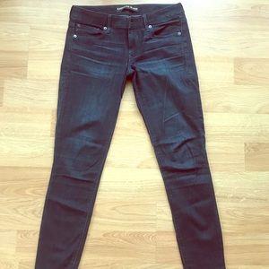 Express Skinny Jeans Dark Wash 4
